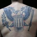 Tatuaje espalda Ramones
