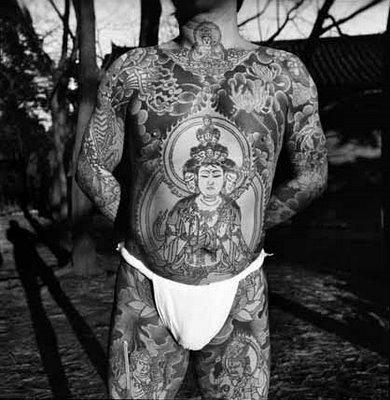 Tatuajes Yakuza horimono, el tatuaje yakuza