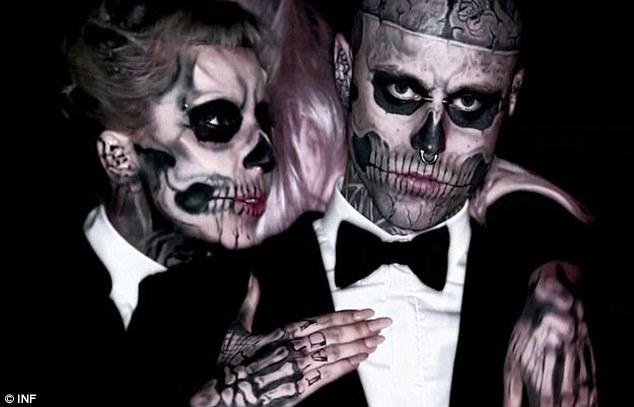 Lady Gaga y Zombie Boy