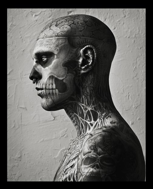 Zombie Boy para Vogue Homme Japan