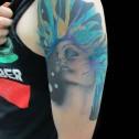 Tatuaje Mujer Pintura Artistica