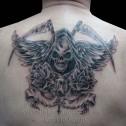 Tatuaje Muerte con Alas