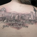 Tatuaje Paisaje Madrid