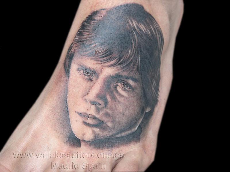 Top luke on pinterest images for pinterest tattoos for Luke skywalker tattoo