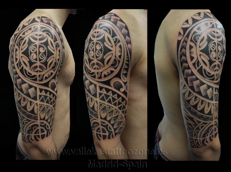 Tatuaje Maori Brazo tatuaje maori antebrazo. armband tattoos. tatuajes maoriesen todo el