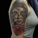 Tatuaje Mujer Catrina