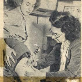 Primera artista femenina del tatuaje en Gran Bretaña – Jessie Knight