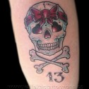 Tatuaje Calavera 13