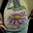 Tatuaje Colibri Margarita