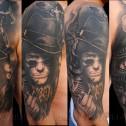 Tatuaje Sherlock Holmes