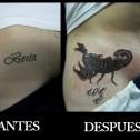 Tatuaje Cover Escorpion
