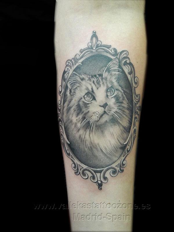 Lujo Tatuajes Enmarcadas Molde - Ideas Personalizadas de Marco de ...