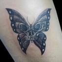 Tatuaje Mariposa Calavera