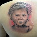 Tatuaje Retrato Hija