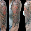 Tatuaje Carpa Koi Oriental
