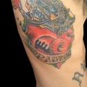 Tatuaje Corazon Anatomico Motor