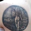 Tatuaje Dollar de Plata