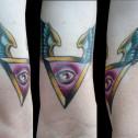 Tatuaje Piramide Ojo