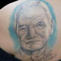 Tatuaje Retrato Anciano