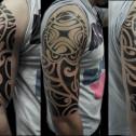 Tatuaje Tribal Maori Brazo