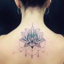 Tatuaje Loto Mandala