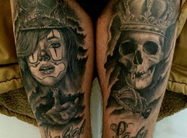 tatuaje-chicana-y-calavera