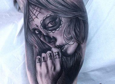 Tatuaje-Catrina-Chicana