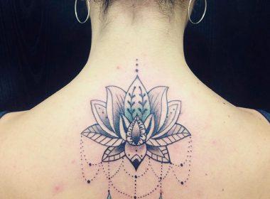 Tatuaje-loto-mandala