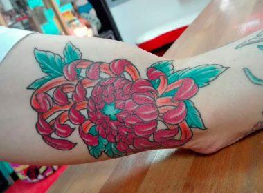 Tatuaje-flor-japones