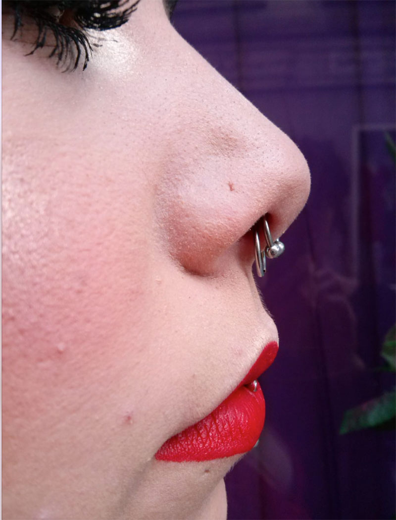 Piercing-Septum-Doble