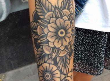 Tatuaje-Floral