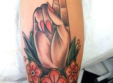 Tatuaje-Mano-estilo-tradicional