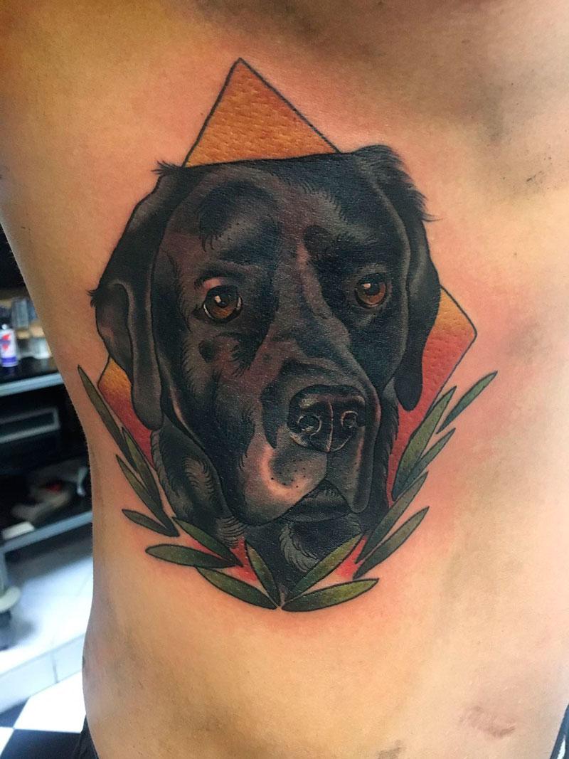 Tatuaje-Perro-Labrador