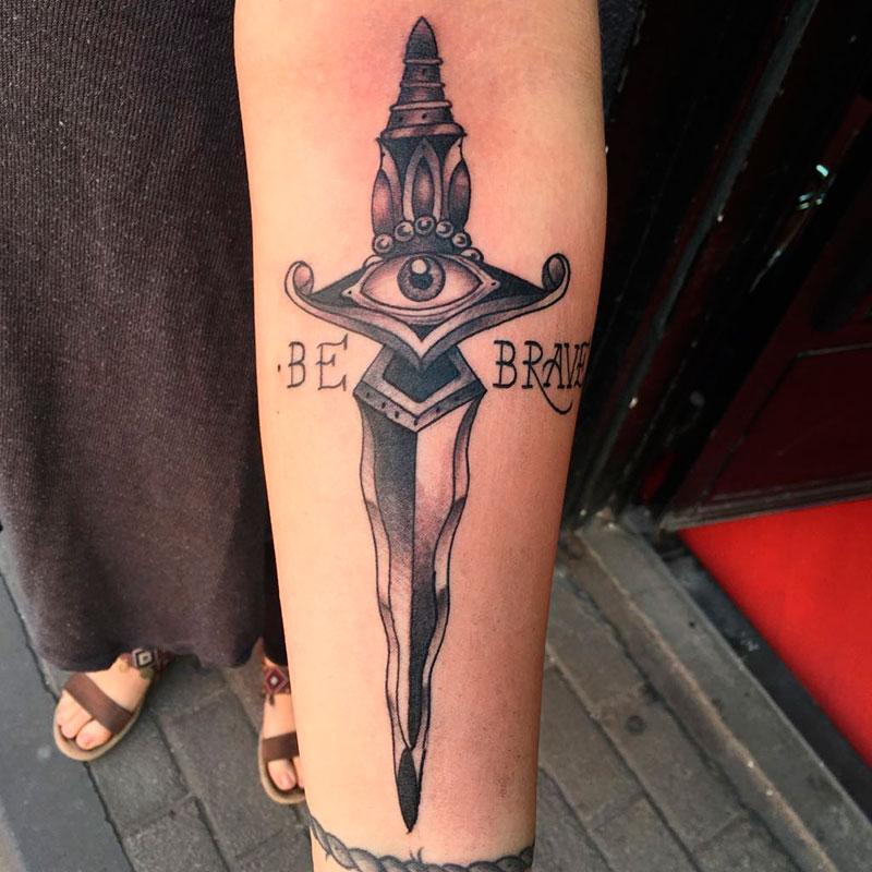 Tatuaje-Daga
