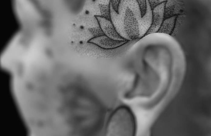 Tattoo Mandala Cabeza