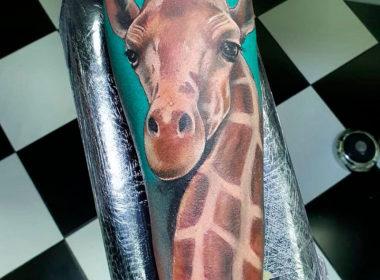 Tatuaje-Jirafa