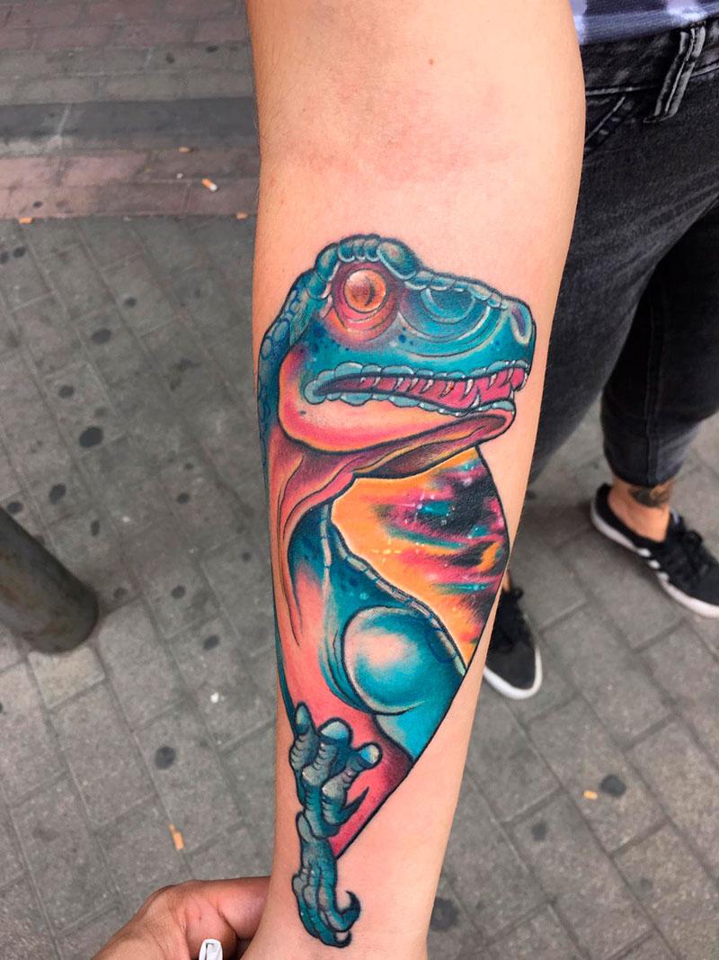 Tatuaje-Dinosaurio