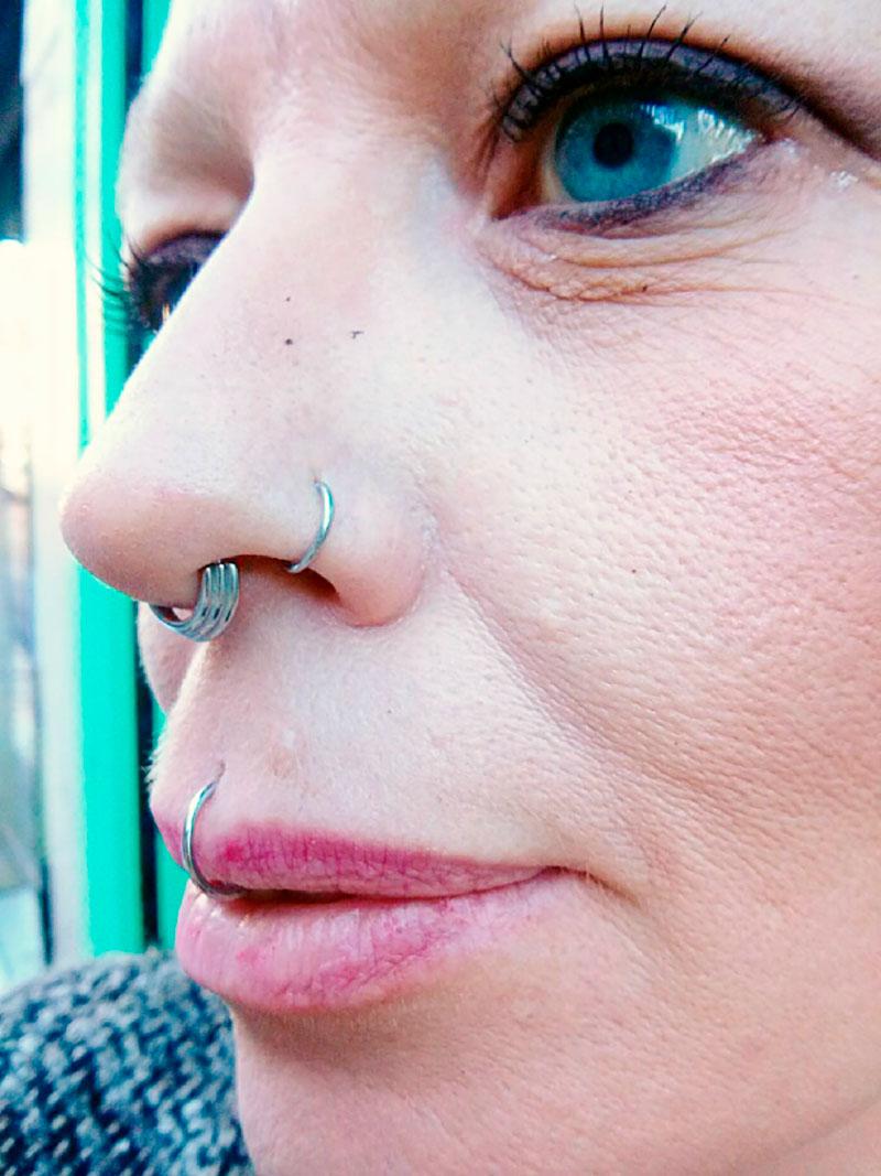 Piercings-Faciales