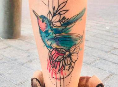Tatuaje-Colibri-Acuarela