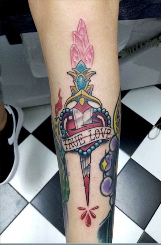 Tatuaje-Corazon-y-Daga