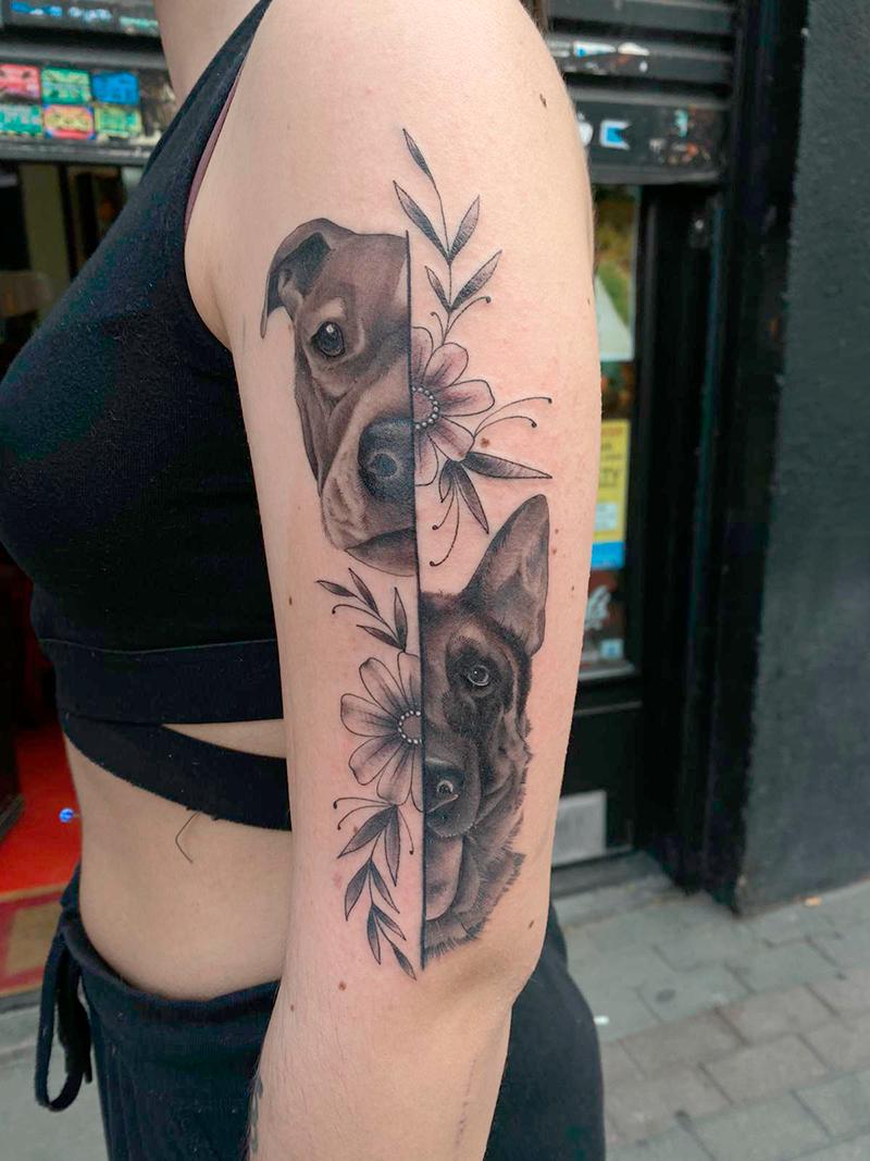 Tatuaje-Perros