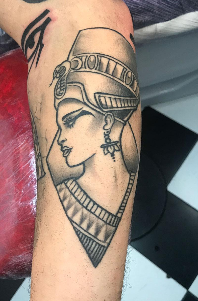 Tatuaje-Nefertiti