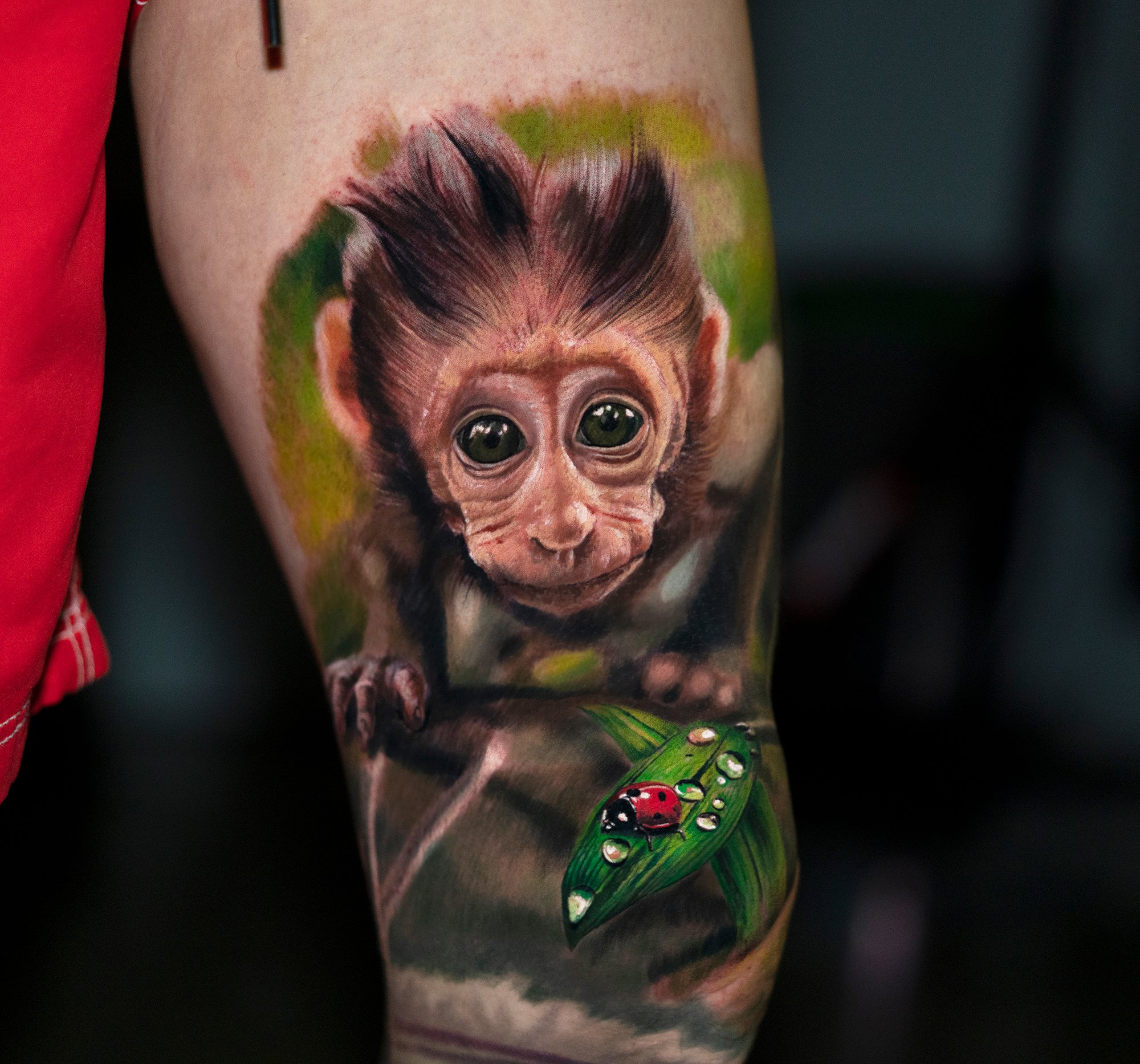 tatuaje hiperrealista Yomiko Moreno