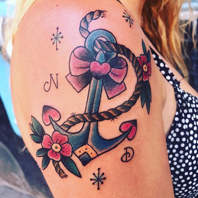 Tatuaje-Ancla-Oldschool